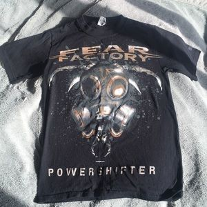 NEW authentic FEAR FACTORY T-shirt Size S